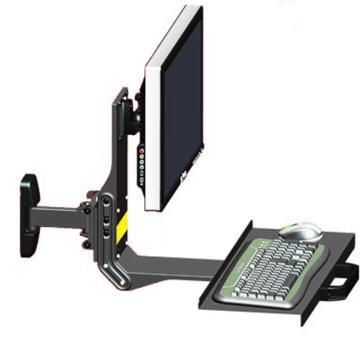 如意手SY31液晶电脑挂架工业设备,SY31+托盘6