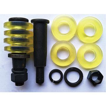 西域推荐 联轴器用柱销靠背玲螺栓,M12*83,8.8级,配一螺母,一弹垫,4胶圈,套