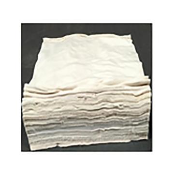 景驰 白色抹布,300*400mm 90%-95%棉 25kg/袋 单位:袋