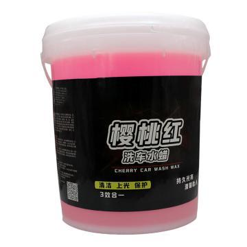嘉佳宝 洗车水蜡,多泡沫中性,20L/桶