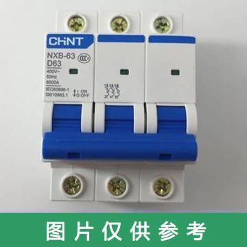 正泰CHINT 空气开关,NXB-63,D63 3P