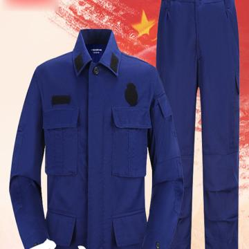 19式消防员冬作训服,160-190,纯棉材质,透气,耐磨,吸湿排汗,防污去污