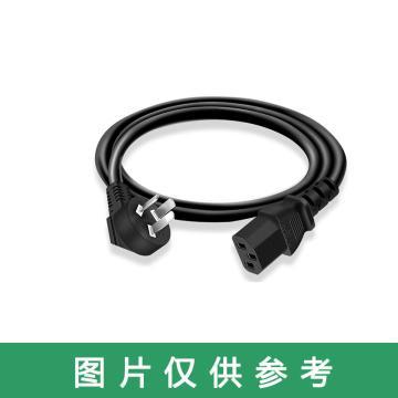 公牛BULL 電源線,10A三孔插頭電源線 長5米