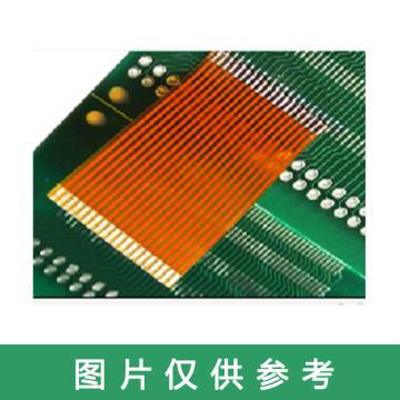 无限曙光WXSG 黄色单面同向软排线,1.0-16P-200mm一端插,另一端焊