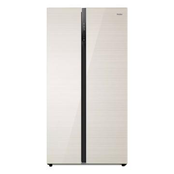 海尔 539L对开(自动除霜)轻奢金,BCD-539WDCO,风冷,二级能效
