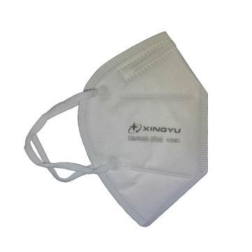 星宇 防塵口罩,KN95折疊耳帶式,10個/包