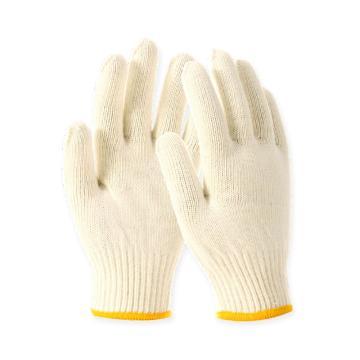 Raxwell 720g滌棉手套,乳白,10針,12副/袋,RW2103