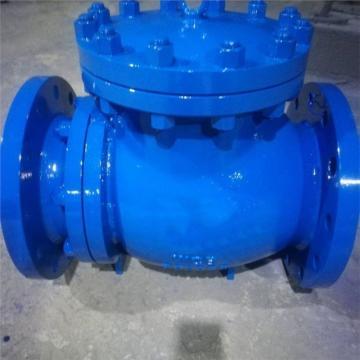 耐磨止回閥DN125 PN1.0,PH41H-10,配平焊法蘭2件、法蘭附件(螺栓、螺母、墊片)3套