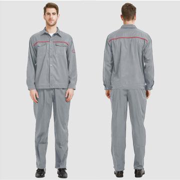 佰益 防靜電耐酸堿服,雙防6006淺灰色 3XL