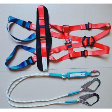 江蘇鑫龍 歐式安全帶,XL303 五點式雙繩大鉤繩長2米,帶緩沖