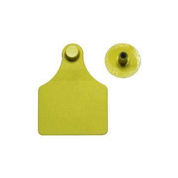 蓝创 高端分体式防篡改牛耳标1#+19#,免费定制,可选颜色:黄、红、蓝、绿、白