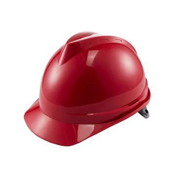 世达 V顶ABS标准安全帽-红色,TF0201R