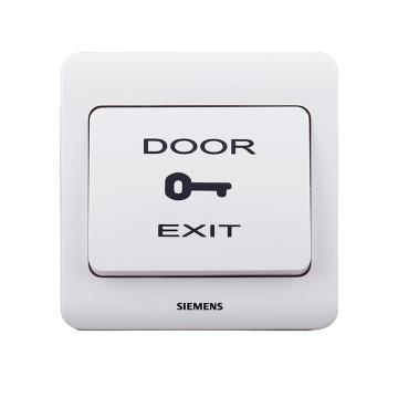 西门子SIEMENS 远景系列出门开关(印DoorExit),5TD01031CC1 雅白