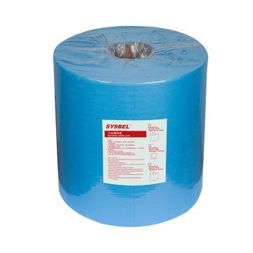 西斯贝尔 工业擦拭布,SCR301B 500张/卷 2卷/箱 卷装 单位:箱