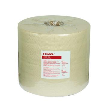西斯贝尔 工业擦拭纸,SWR201Y 420张/卷 2卷/箱 卷装 单位:箱