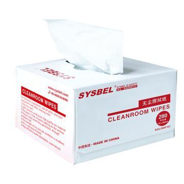 西斯贝尔 无尘擦拭纸,SWF101 280张/盒 60盒/箱 白色 抽取式 单位:箱