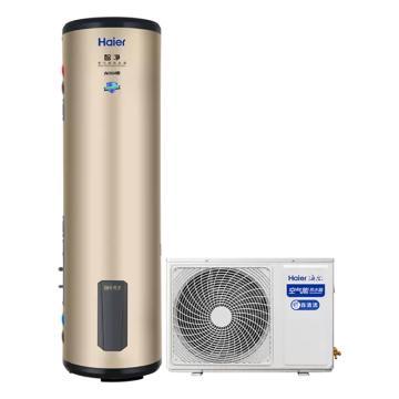 海尔 智净系列200L自清洁空气能热水器,KF70/200-DE5,220V,额定制热量3100W。一价全包