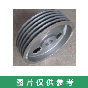皮帶輪,外徑170mm,內徑28mm,雙槽,皮帶輪厚45mm,凸臺高22mm,外徑58mm