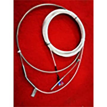 安徽天康 鎧裝鉑熱電阻,WZPDM2-002K-AJ3 雙支 φ6*90*φ3*3m(鎧裝)*12m(引線) M10*1 帶彈簧