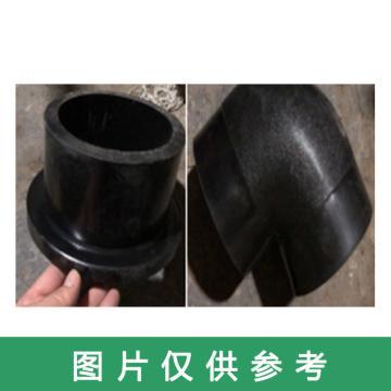 龍武 耐磨耐腐彎頭,HDPT250*10WPT(90度帶雙法蘭)
