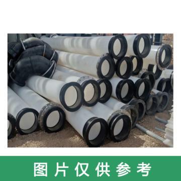龍武 耐磨耐腐直管,HDPE110*10PT(帶雙活法蘭)