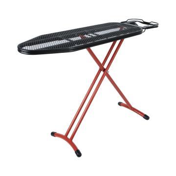 唐年 專業燙衣板,IB-0201BR 紅色支架高度可調節 單位:個