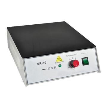 慧泰 电热恒温加热板,经济型(铁),承载面尺寸:300x300mm,外形尺寸:300x355x125mm,ER-30