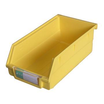 力王 背掛零件盒,190*105*75mm,全新料,PK-013-黃色,單位:個