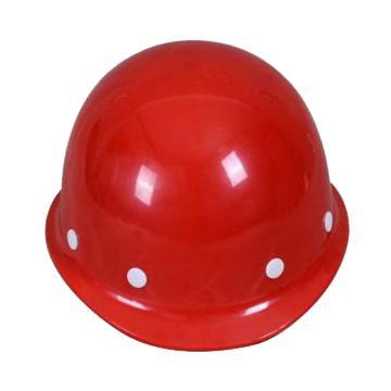 日月星 安全帽,玻璃钢安全帽,红色