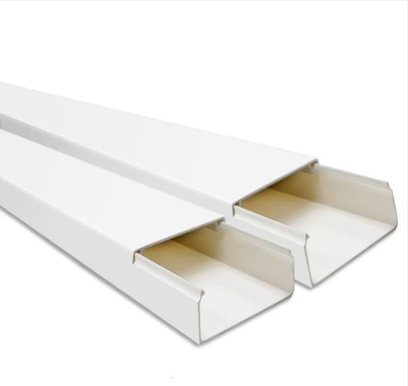 西域推薦 線槽,20mm*10mm*5000mm/PVC 每根2米長