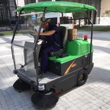 瑪西爾 駕駛式電動掃地車(全封閉),S14