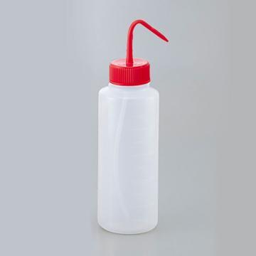 进口多色清洗瓶(广口),红色,容量1000ml