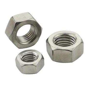 奥峰 DIN934六角螺母,M6-1.0,不锈钢316,1000个/包