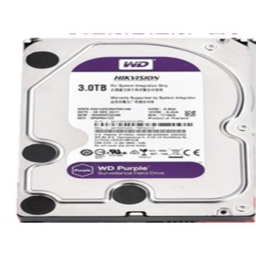 西部數據監控紫盤,WD30EJRX 監控級硬盤3.5寸 3T SATA接口