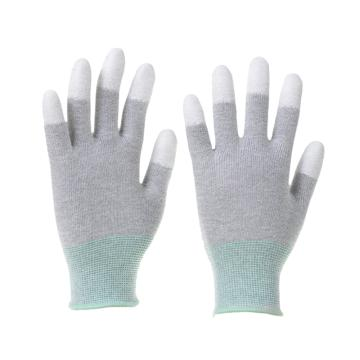 Raxwell 碳纖維織PU工作手套(指浸),13針,M碼,RW2453,10副/包