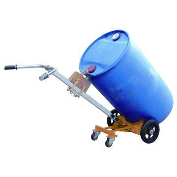 虎力 油桶搬運車,叼扣式450kg(鋼桶),DE450B