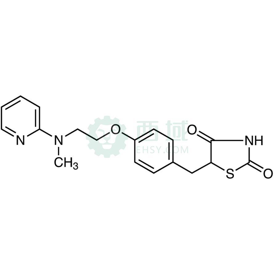 CAS:122320-73-4,罗格列酮,>98.0%(HPLC)(T),200MG|冷藏