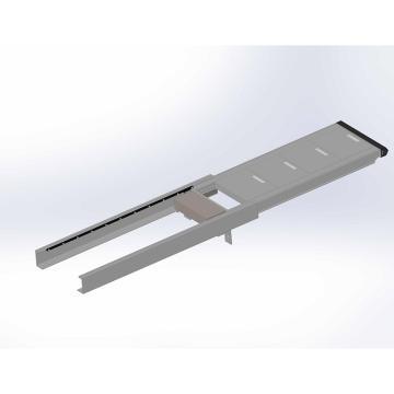 華鋁機械 手動伸縮平臺,型號:HL-TBA-1000-400-130-D