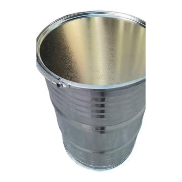 西域推薦 鍍鋅桶,208L,鍍鋅板大口抱箍,1.0mm壁厚