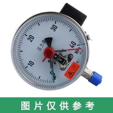 萬達 電接點壓力表,YJTFXC-150,304不銹鋼,徑向不帶邊,Φ150,0~6.0MPa,M20*1.5,1.6級,380V
