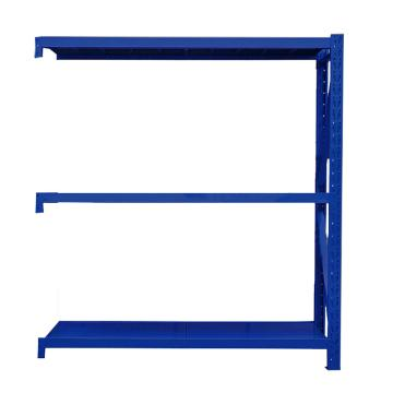 Raxwell 層板貨架副架,3層,500kg,尺寸(長×寬×高mm):1500×600×2000,藍色,安裝費另詢