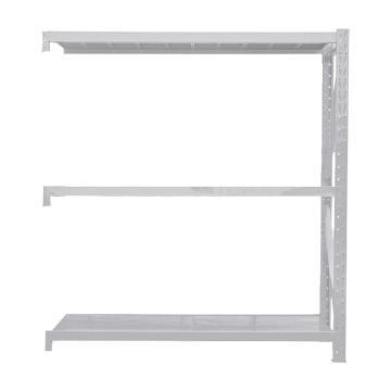 Raxwell 層板貨架副架,3層,500kg,尺寸(長×寬×高mm):1500×600×2000,灰白色,安裝費另詢