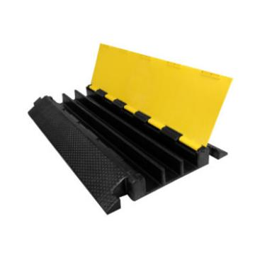锦安行 三槽线缆保护带,材质:橡胶(PVC) 长900*宽480*高65mm,槽内尺寸:宽60*高50mm