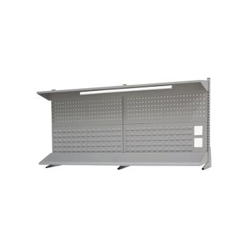 信高 工作臺后掛板,2.1米(含燈具、頂板、棚板),EP-21,45kg
