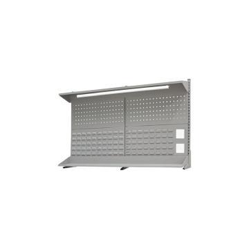 信高 工作臺后掛板,1.5米(含燈具、頂板、棚板),EP-15,36kg