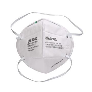 3M KN90折疊式頭帶式口罩,9002,環保包裝 50個/袋