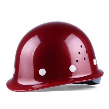 星工 盔式安全帽,ABS材质,深红色,XGA-1T