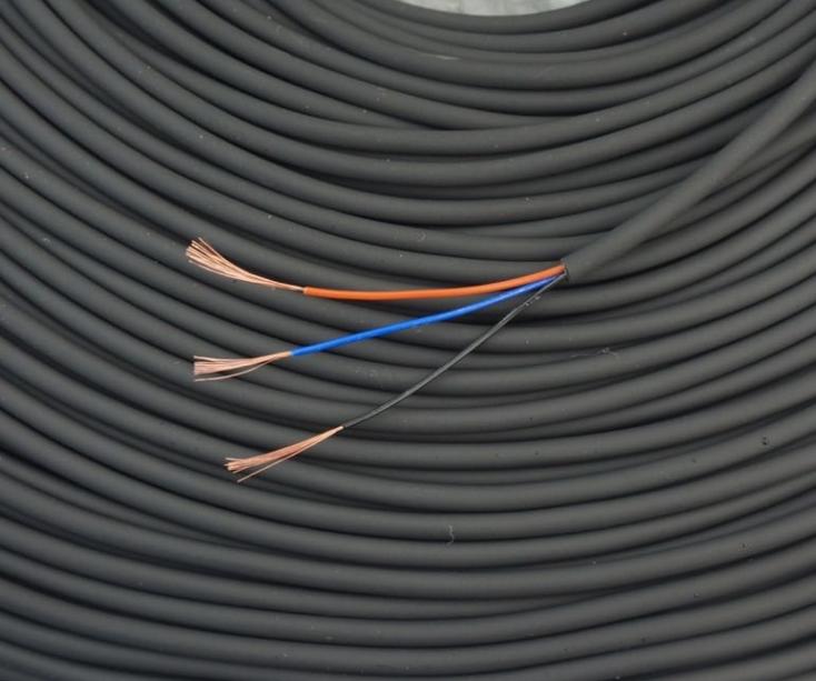 西域推薦 定制電纜,TRVV,3*0.15,黑色,100米/卷