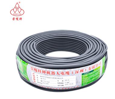 西域推薦 拖鏈電纜,灰色,TRVV,10芯*0.2,100米/卷