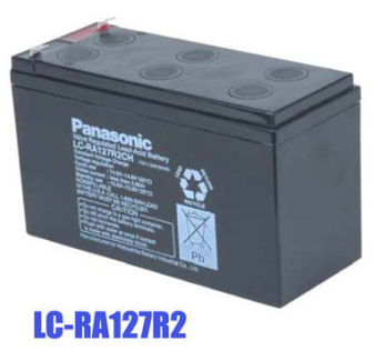 松下 蓄電池,LC-P127R2PN1,12V7.2